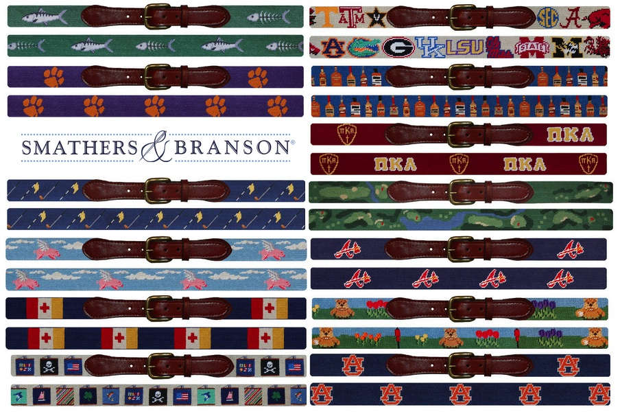 The Custom Needlepoint Belt Option | Red Clay Soul