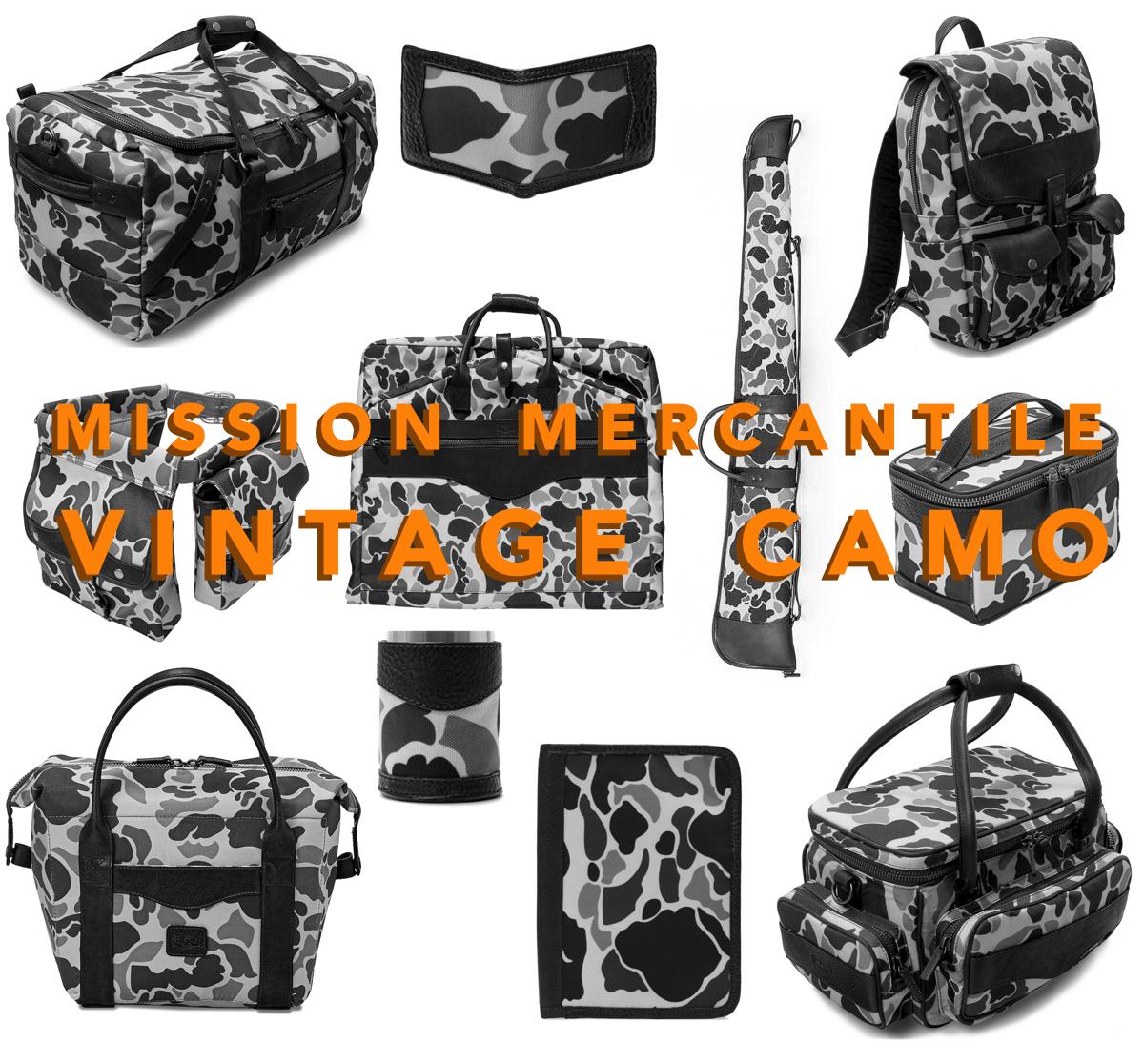 Mission Mercantile – Vintage Camo Has Arrived!