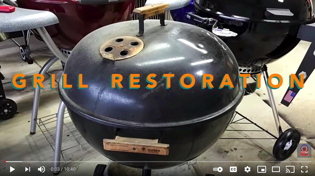 Labor Day: Weber Grill Restoration