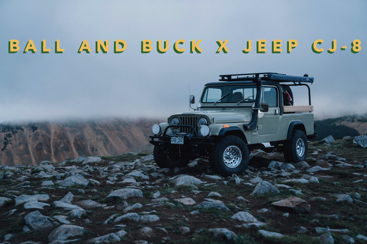 Now Available: The Ball and Buck X Jeep CJ-8 Scrambler