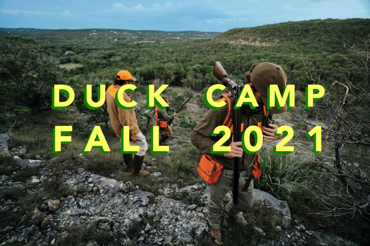 Duck Camp Fall 2021